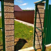 Строительство забора с калиткой в Серпухове