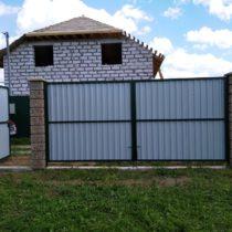 Забор из профнастила в Пущино