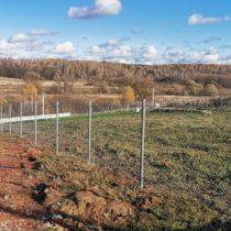 Забор из сетки рабица в Серпухове и Серпуховском районе